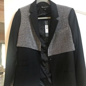 BNWT Elizabeth & James Black Jacket with Glitter